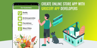 Create Online Store App With Grocery App Developers